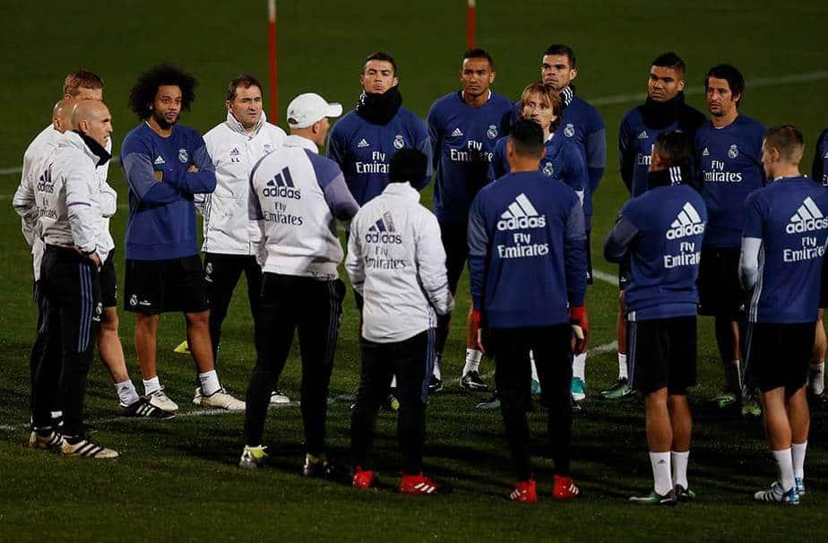 Entrenamiento Real Madrid Japón