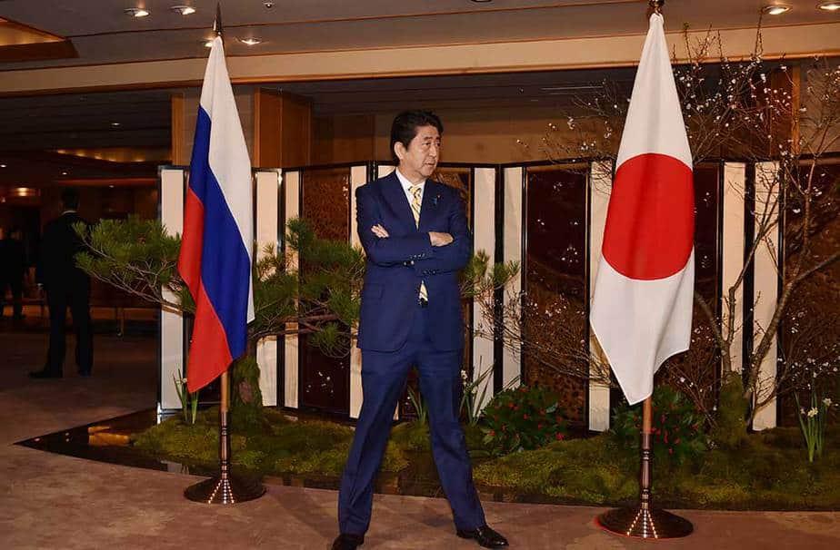 Shinzo Abe espera por Vladimir Putin