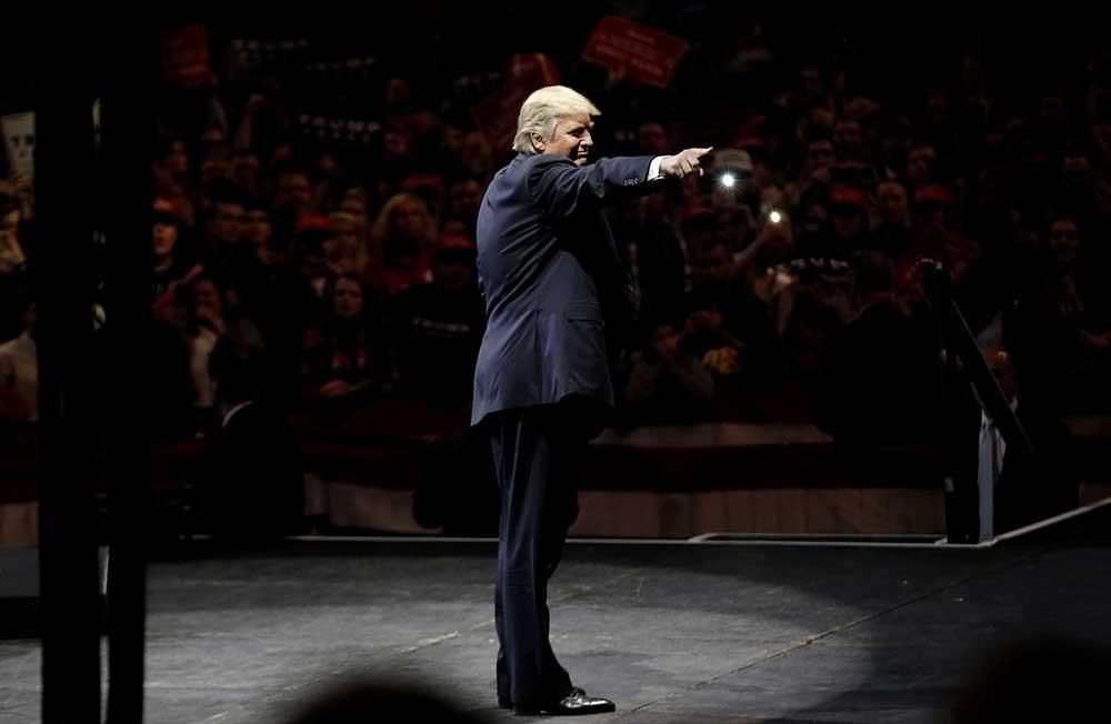 Donald Trump de gira