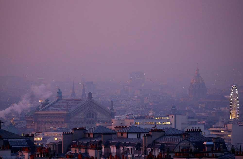 """Contaminación del aire en Europa en 2018: La gran """"barrera de carbón"""""""