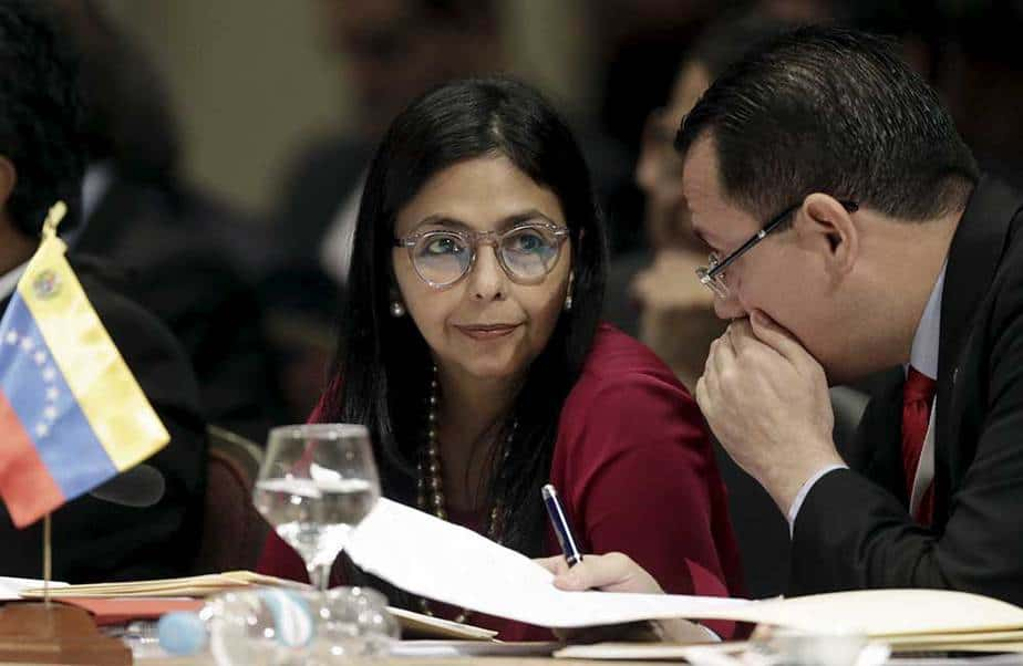 Cnciller de Venezuela, Delcy Rodríguez