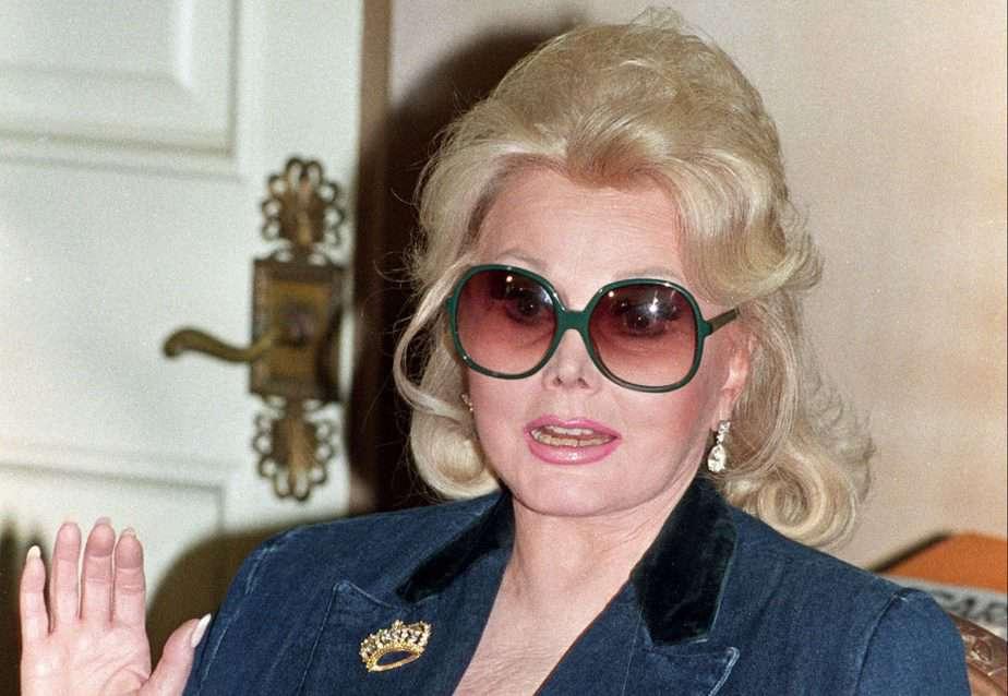 La actriz Zsa Zsa Gabor. FOTO: Reuters