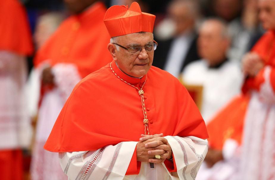 El cardenal venezolano Baltazar Porras. FOTO: Reuters