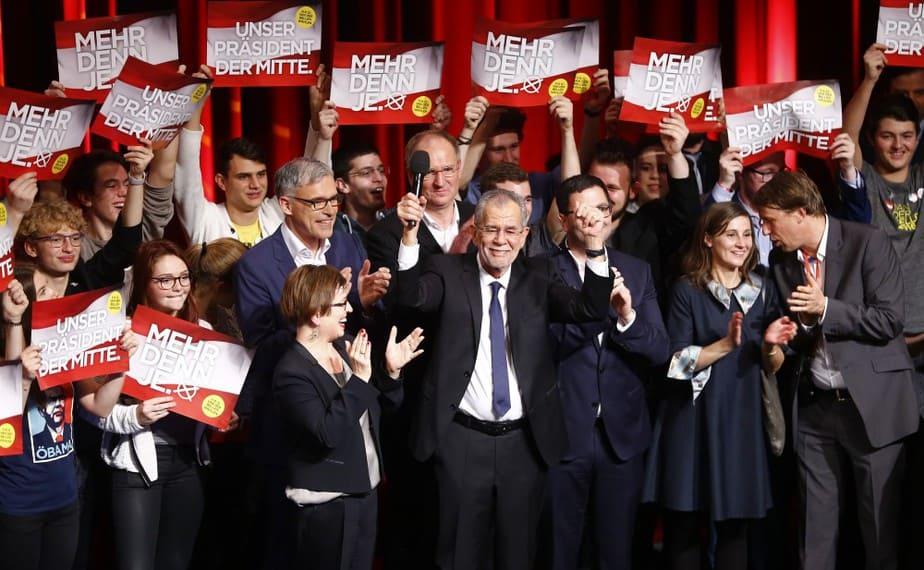 El presidente electo de Austria, Alexander Van der Bellen. FOTO: Reuters