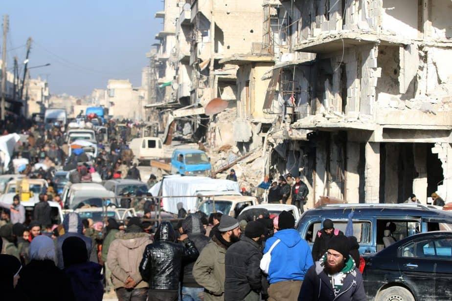 Imágenes de Alepo. FOTO: Reuters
