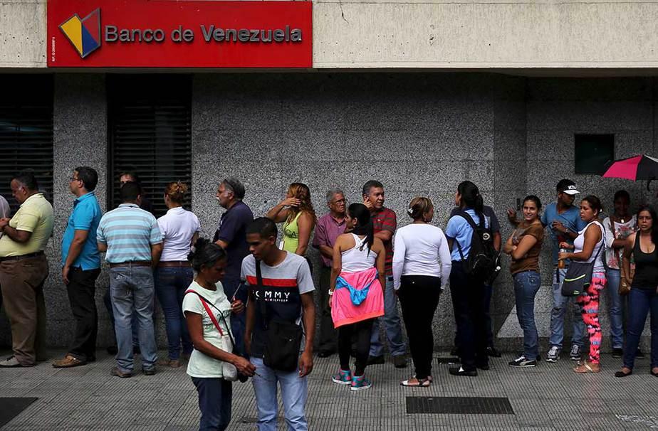 Venezuela cajeros automáticos efectivo
