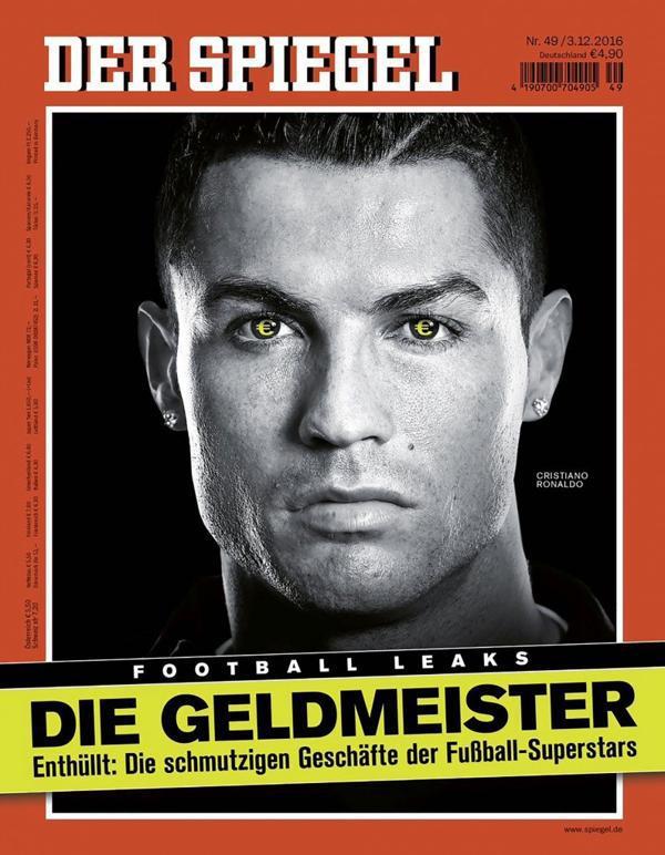Cristiano Ronaldo es uno de los futbolistas implicados en las transacciones sucias del fútbol profesional