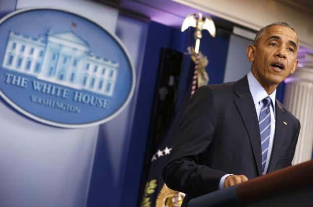 Obama desgranó todos los temas en su última conferencia de prensa de 2016. (Reuters)