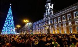 Año Nuevo en Madrid 2017