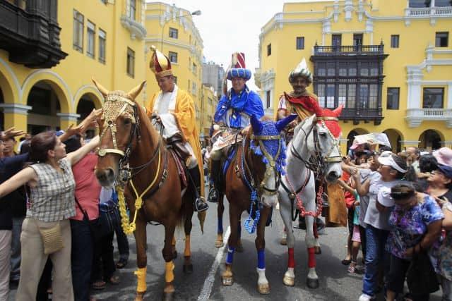 Cuando es Reyes hay fiesta en muchos países