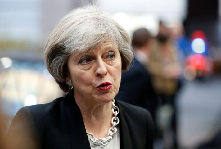 Theresa May (Reuters)