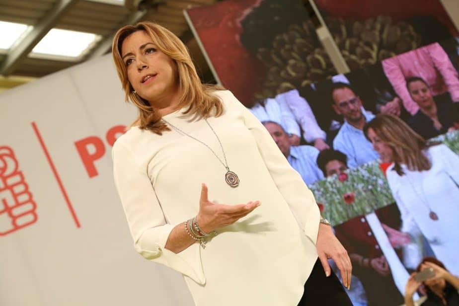 La presidenta de la Junta de Andalucía, Susana Díaz. FOTO: Flickr PSOE