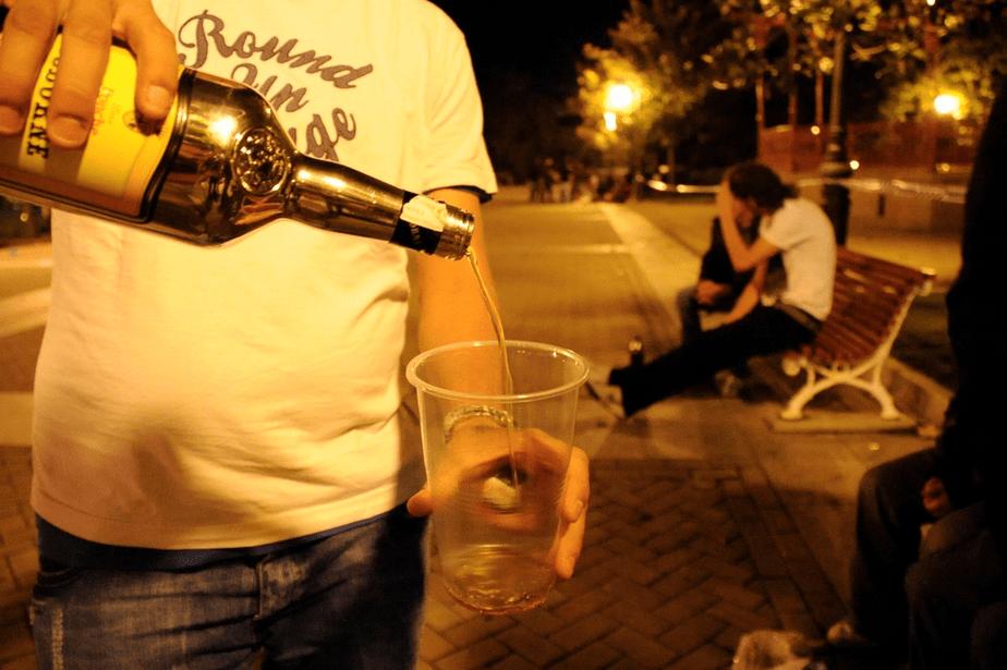Alcohol en menores de edad