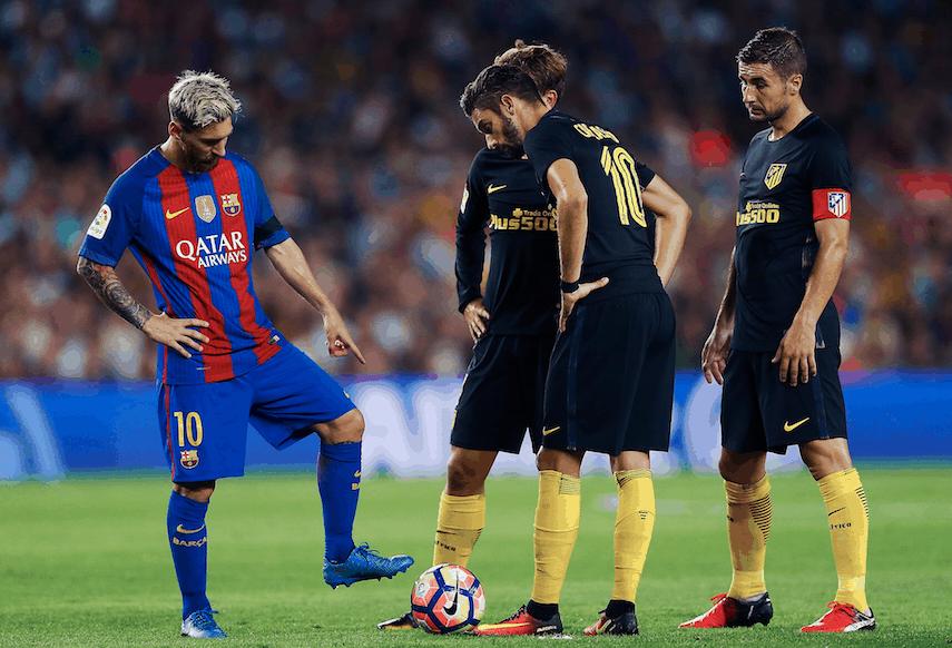Messi Barcelona Atlético de Madrid