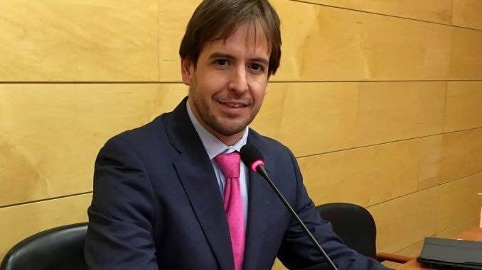 Cristiano Brown, líder de UPyD.