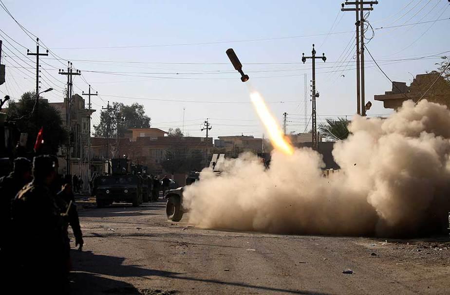 Batalla en Mosul