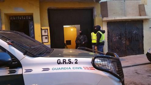Detención Guardia Civil. FOTO: Ministerio del Interior
