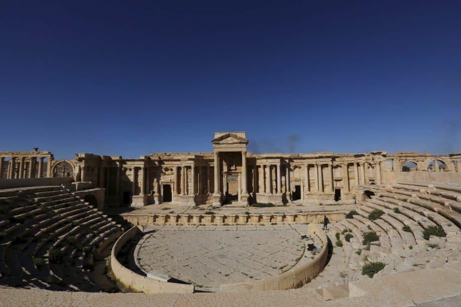 Teatro Romano de Palmira, en Siria. FOTO: Reuters