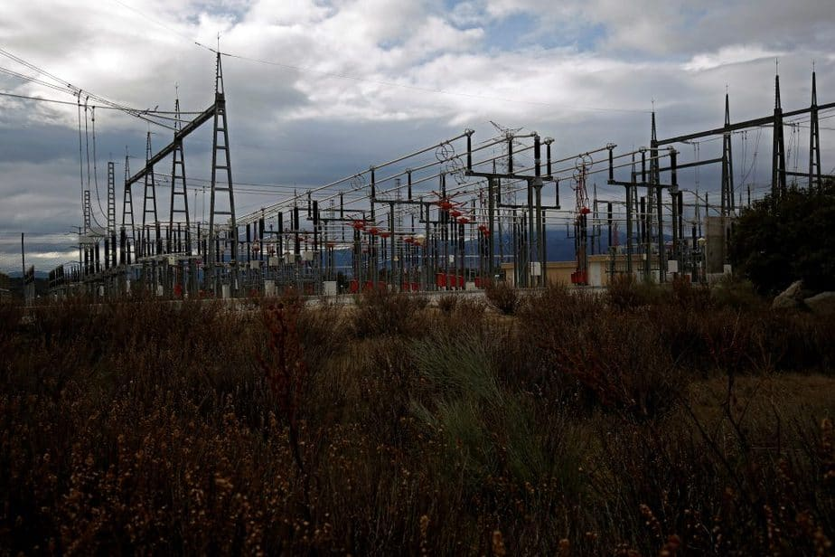 Estación eléctrica en Galapagar, Madrid. FOTO: Reuters