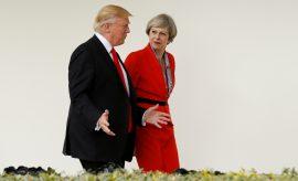 """Trump: El plan para el Brexit de May """"mataría un acuerdo"""" con EEUU"""