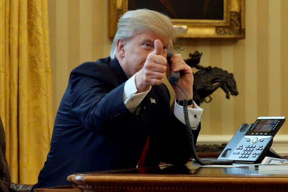 El presidente estadounidense Donald Trump.