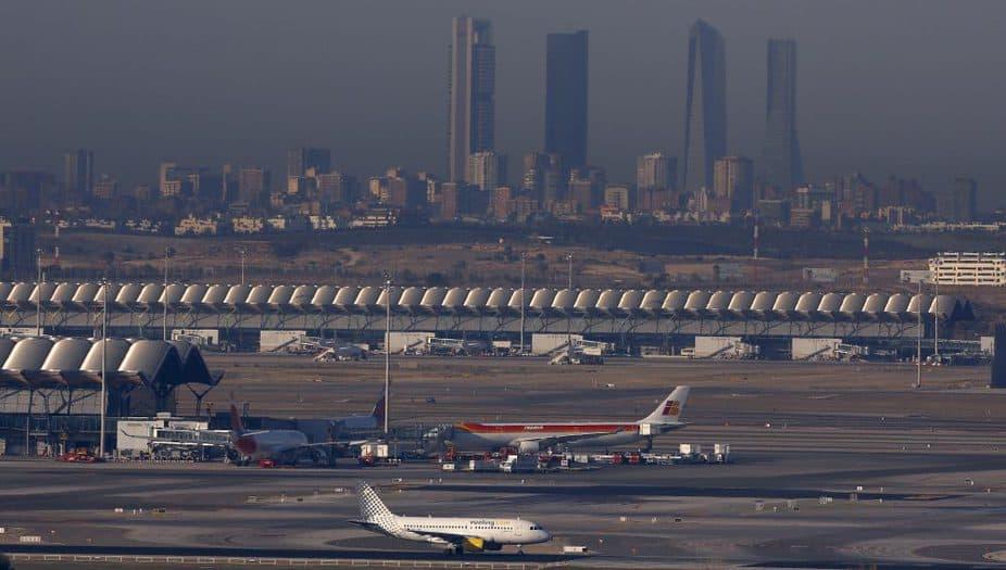 Aeropuerto Adolfo Suárez Madrid Barajas. FOTO: Reuters