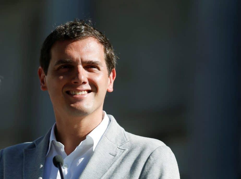 El líder de Ciudadanos, Albert Rivera. FOTO: Reuters