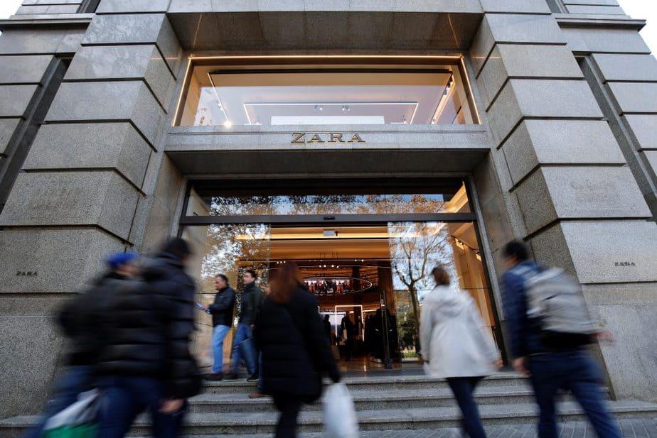 Tienda de Zara. FOTO: Reuters