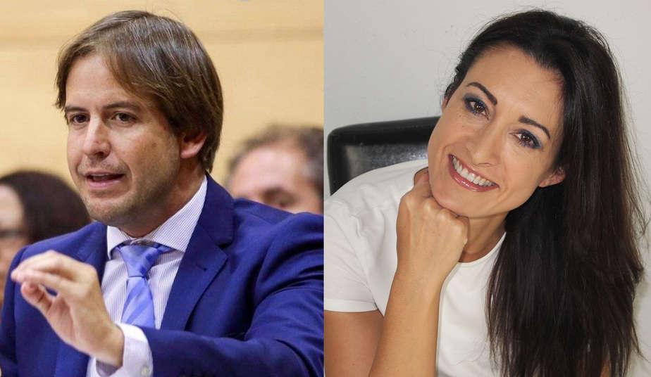 Cristiano Brown y Carmen Lamana, candidatos a liderar UPyD.
