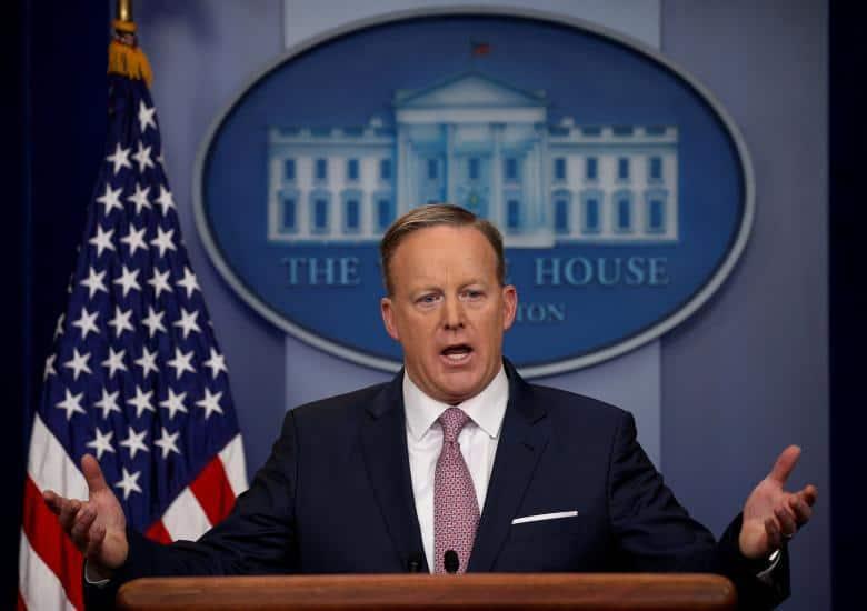 El secretario de prensa de la Casa Blanca, Sean Spicer. (Reuters)