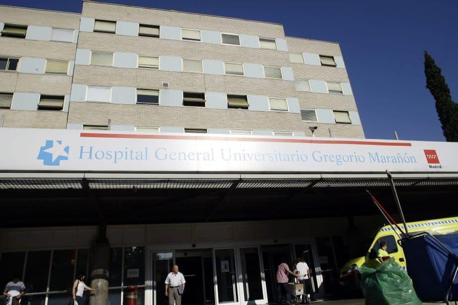 Hospital Gregorio Marañón de Madrid. FOTO: Reuters