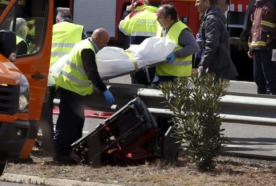 Accidente. FOTO: Reuters