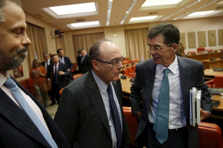 Luis María Linde, gobernador del Banco de España. FOTO: Reuters