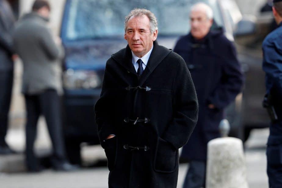 El líder centrista francés François Bayrou.  FOTO: Reuters