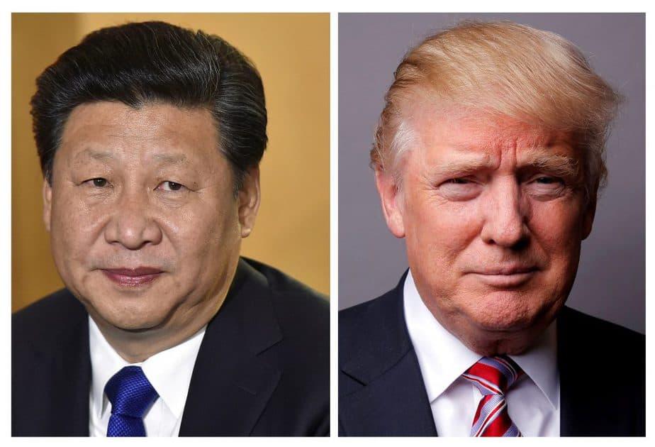 Xi Jinping y Donald Trump. FOTO: Reuters
