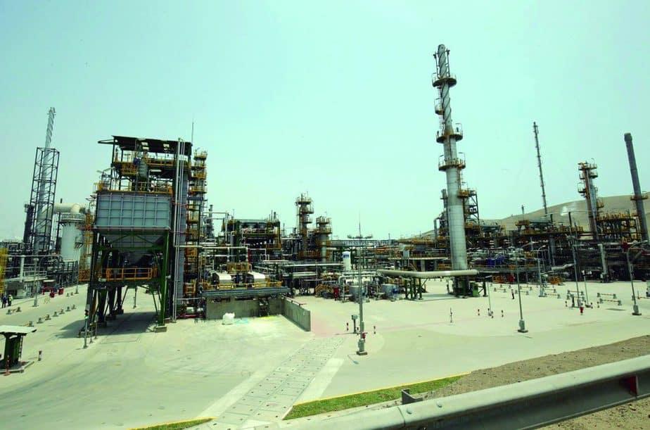 Refinería de La Pampilla, en Perú. SACYR