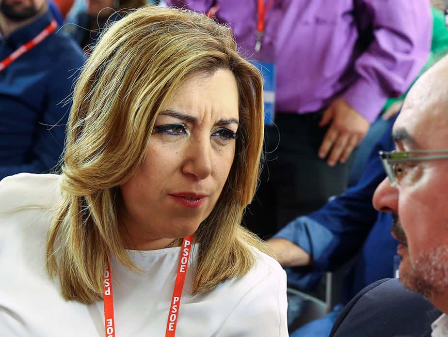 La presidenta de la Junta de Andalucía, Susana Díaz. FOTO: RReuters