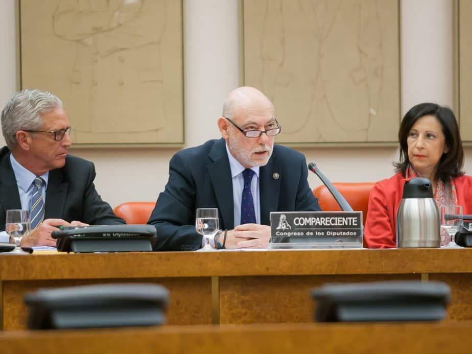 El fiscal general del Estado, José Manuel Maza. FOTO: Congreso