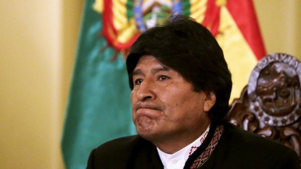 """Presidente Evo Morales no cree que """"la voz del pueblo es la voz de Dios"""" y buscará nuevo mandato, a pesar de la oposición a su reelección/Reuters"""