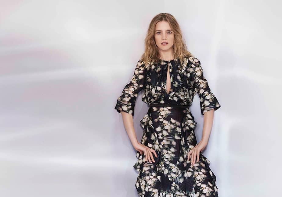 Natalia Vodianova, imagen de la campaña H&M Conscious Exclusive