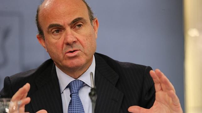 El ministro de Economía de España, Luis de Guindos