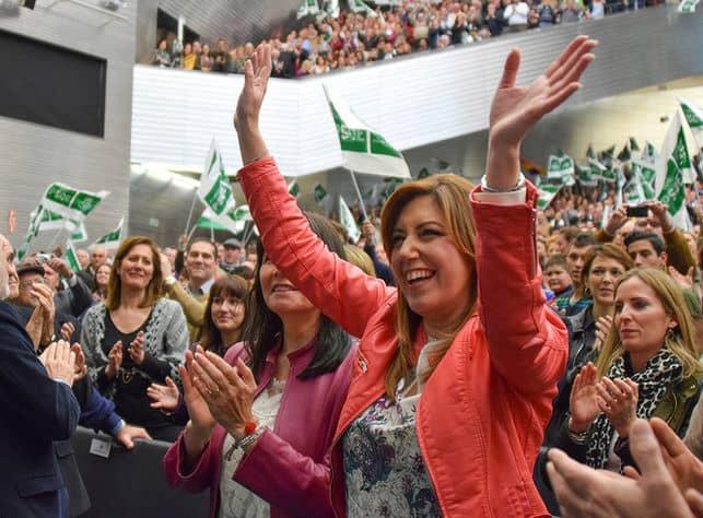 El PSOE de Susana Díaz volvería a ganar en Andalucía.