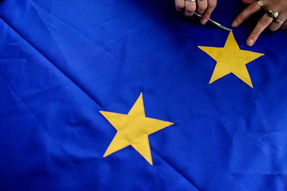 Bandera de la Unión Europea. FOTO: Reuters