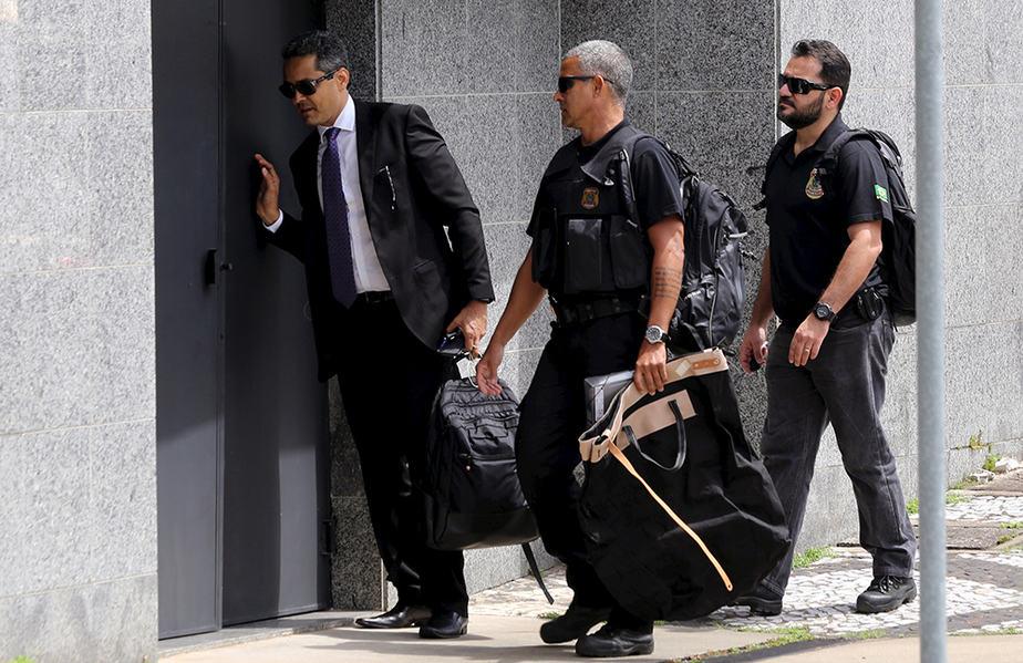 Operación contra Odebrecht en Brasil. FOTO: Reuters