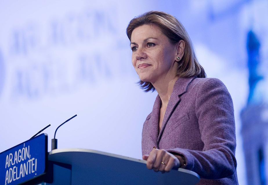 La secretaria general del PP, María Dolores de Cospedal. FOTO: Flickr PP