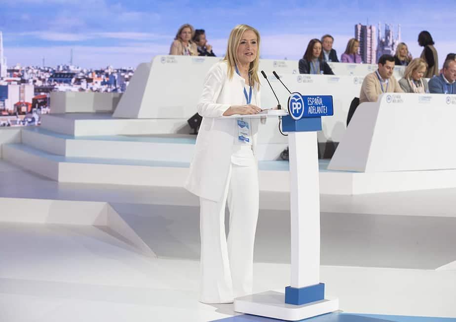 Cristina Cifuentes renuncia a la Presidencia del PP de Madrid