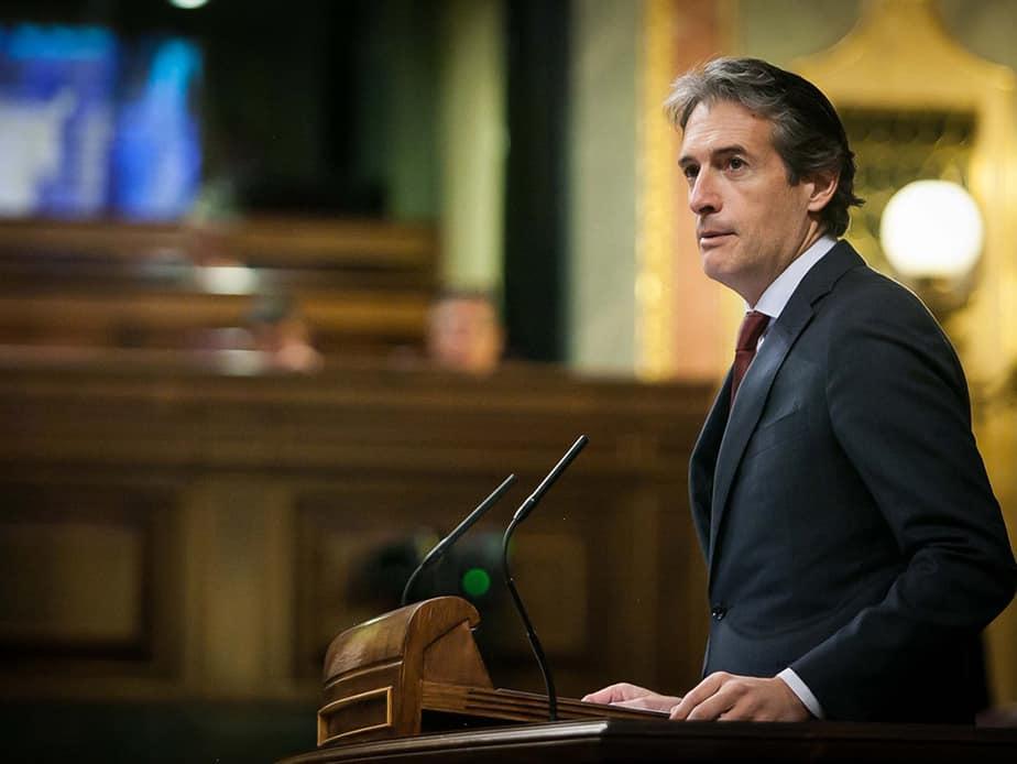 El ministro de Fomento, Íñigo de la Serna. FOTO: Congreso