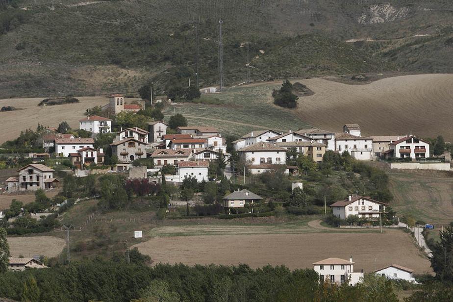 Oricáin, epicentro del terremoto. FOTO: Gobierno de Navarra
