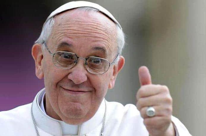 El papa Francisco propone un cambio en el Padre Nuestro