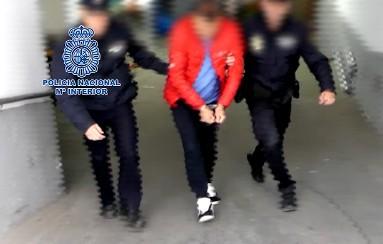 Detención de la Policía. FOTO: Policía